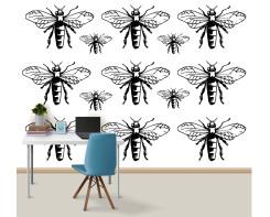 מדבקות קיר חרקים לחדר של מתבגרים