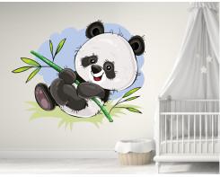 מדבקות פנדה ענקית לחדר של תינוק