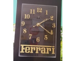 שעון קיר זהב שקוף  +לוגו חברה
