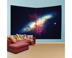 לונג- טפט בד לקיר של חור שחור בחלל