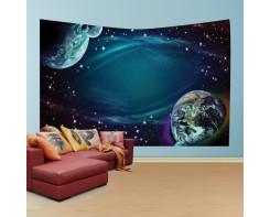 לונג- טפט בד לקיר של כוכבי לכת