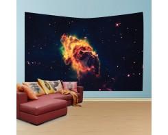 לונג- טפט בד לקיר של אבק בחלל