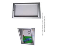 מסגרת דגם LOCKER כולל דלת עם מנעול גודל A3