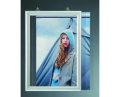 מסגרת גודל SLIDER 70*50 לתליה מהתקרה לפרסום בחלון ראווה