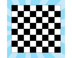 מדבקת רצפה משחק דמקה / שחמט