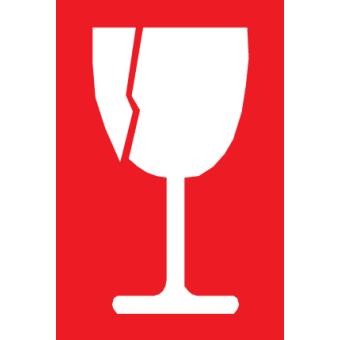 סמל כוס שביר