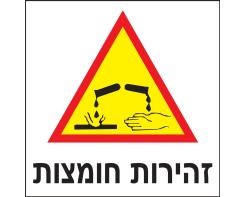 זהירות חומצות