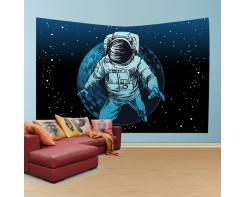 לונג- טפט בד לקיר בסגנון אסטרונאוט משגע