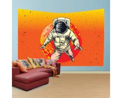 לונג- טפט בד לקיר בסגנון אסטרונאוט משגע2