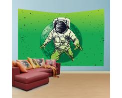לונג- טפט בד לקיר בסגנון אסטרונאוט משגע3